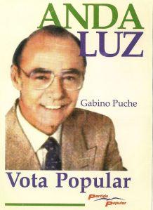 Un desconocido Gabino Pucje, llevó las riendas de los
