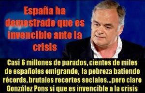 González Pons, el de los 3.500.000 de empleos que crearía el PP