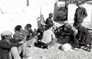 Jornaleros andaluces que solo podían mandar en su hambre