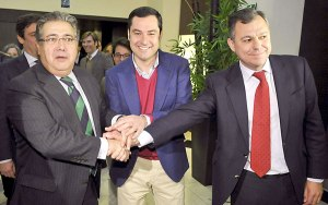 La mano envenenada que el dúo Zoido/Sanz, le dan a Moreno Bonilla.