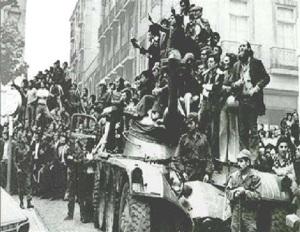 25 de abril 1974: La Revolución de los Claveles