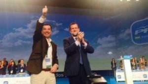Rajoy y Moreno, en las nubes