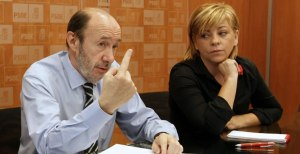 El dedo de Rubalcaba lo ha sido todo para nominar a Valenciano.