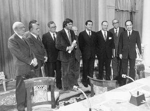 Los Pactos de la Moncloa. 25 de Octubre 1977.