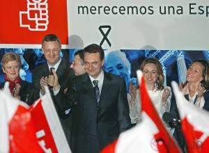 Triunfo de ZP en las elecciones del 2004