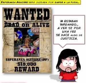 Esperanza Aguirre, juzgada