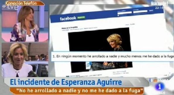 """""""Espero que los agentes fueran apuestos"""" (Mariló Montero entrevistadora de TVE)"""