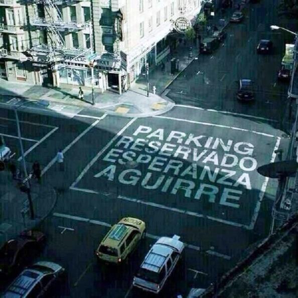 El nuevo parking que desearía Ésper ver pintado en Gran Vía