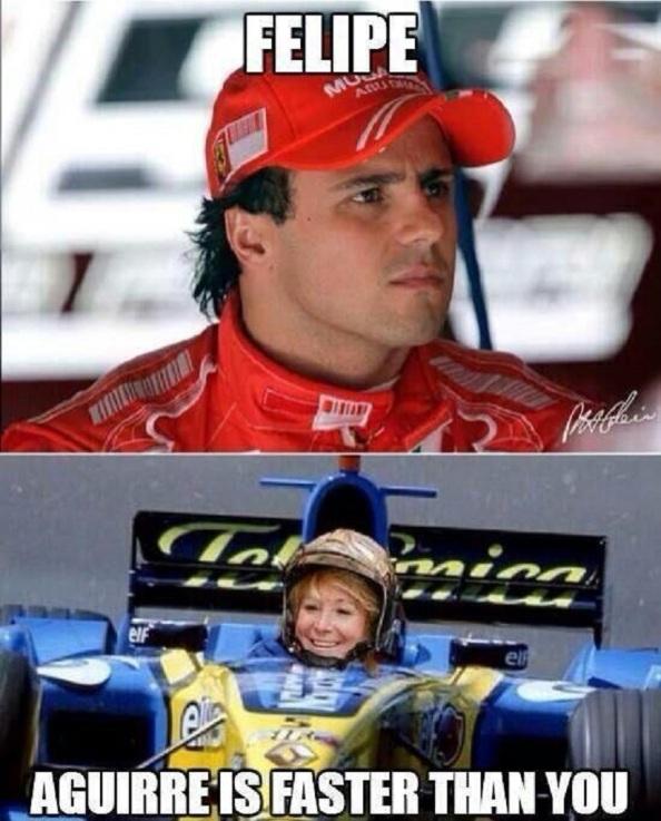 Más rápido que Felipe Masso.