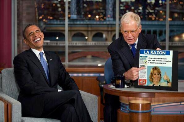 Obama, despelotándose de la versión de los hechos que realiza La SinRazón