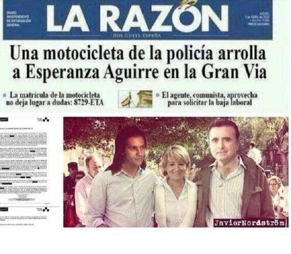 Primera edición del diario La SinRazón