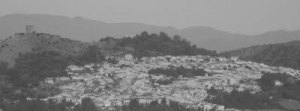 El pueblo de Jimena se echó a la calle con destino a La Estación a oir por la radio de mi abuelo lo que pasaba en Madrid