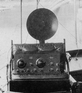 Aparato de Radio que le tocó en una rifa a mi abuelo, Juan Huertas