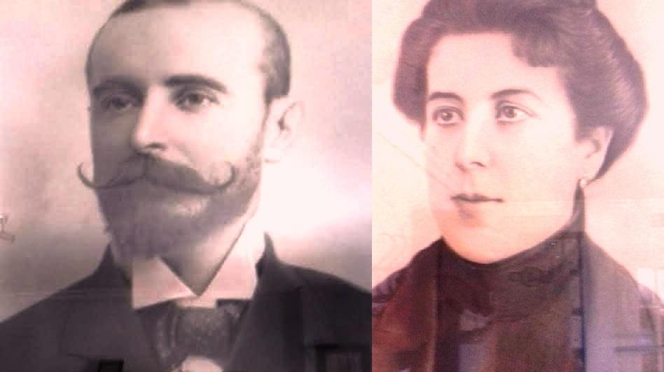 Año 1898. Dolores Bocanegra Simó, esposa de José Marina Soria. Fuente: Salvador Marina Benítez.
