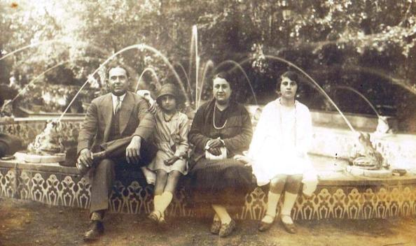 mi familia expo abril 1929 sevilla jimena