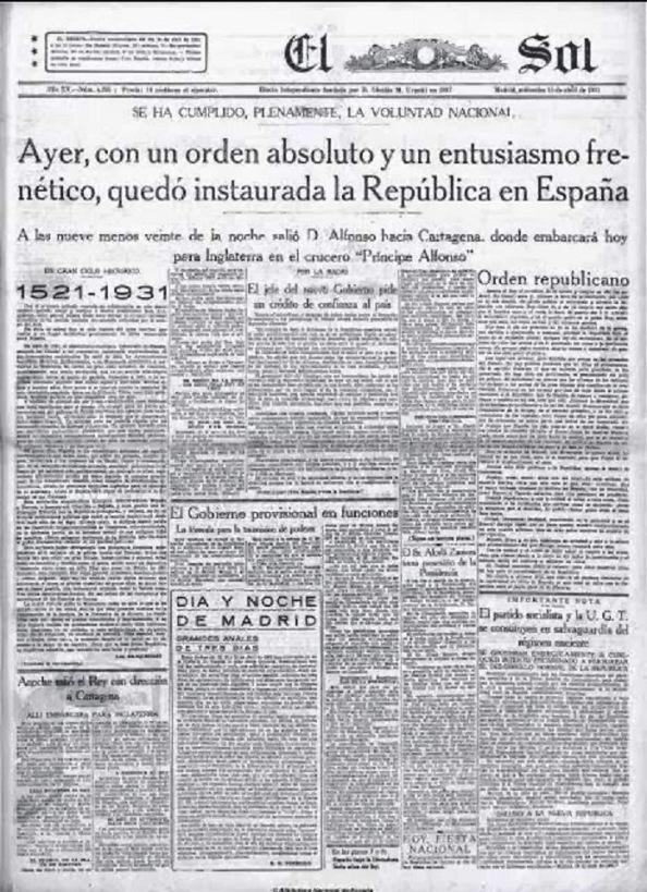 Diario El Sol en otra edición