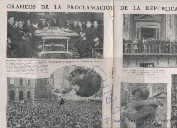 Revista católica dando amplio despliegue gráfico de los acontecimientos