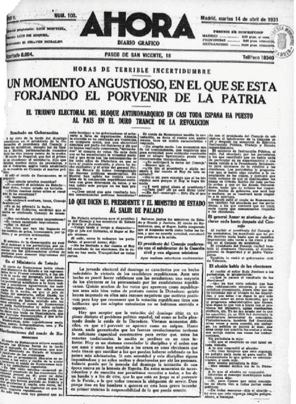Diario 14.04.1931