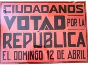 Pasquín llamando al voto republicano