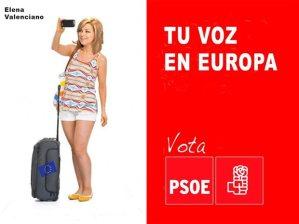 Elena Valenciano, ya en Bruselas para apoyar la misma UE, al candidato del PP europeo, Juncker