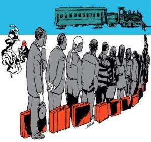 Vuelve la España cuya única esperanza estaba centrada en la emigración