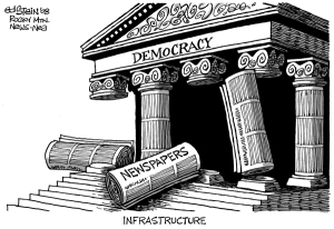 La caída de un pilar fundamental de la democracia
