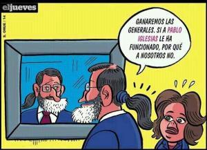 Hasta Rajoy, ya que el CIS ni se lo olió, sorprendido con el resultado de Podemos