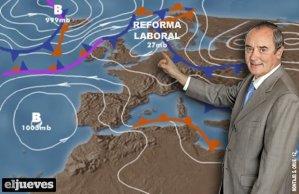 Laponia, lugar preferido de deportación por la CEOE, gracias a la reforma laboral de Rajoy