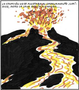 La primera erupción llegó el 25 de Mayo con las elecciones europeas