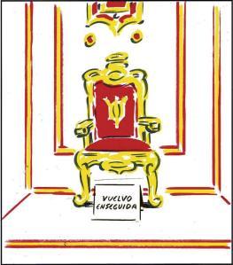 La siguiente víctima de las elecciones, la abdicación del Rey