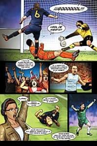 La famosa pelotita metida por Iniesta a Holanda que dio a España el mundial del 2010