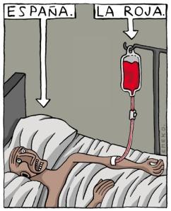 A la Roja en Brasil, le faltó sangre