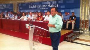 Heredia en el Congreso Extraordinario de Málaga. Foto de Álvaro Cabrera. Diario Sur