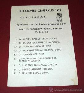 La lista del PSOE de Málaga, la que más votos socialistas alcanzó en toda España