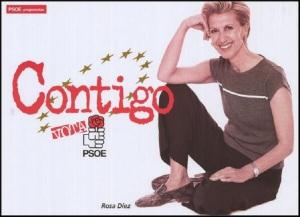 Rosa Díez otra que no estaba en la política cuando en los años 90 fue consejera del PSOE en el Gobierno vasco, rival de ZP y europarlamentaria del PSOE