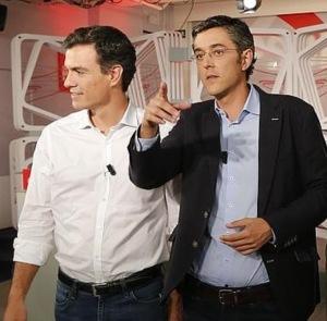 Madina y Sánchez, dos candidatos para el continuismo con distintos padrinos y aparatos