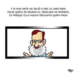 Rajoy y Mato mutis frente al Ébola