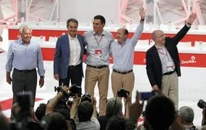 La foto final del Congreso, Pedro Sánchez, entre ZP, un Felipe González, desconocido hoy en sus puertas giratorias o un Almunia de liberal en la UE, quizás simboliza esa impotencia por situar al PSOE en la izquierda, e irreconocible para las nuevas generaciones.