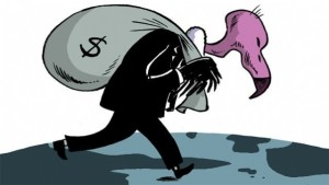 Fondo buitre, o buitre sin fondo para la corrupc