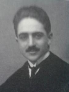 El Dr Montero con 24 años (1916), médico por la Facultad de Medicina de Cádiz