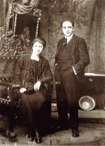 Don José Montero Asenjo y su esposa doña Núñez Gallardo