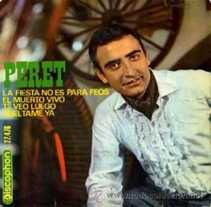 La carátula del disco de Peret