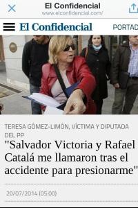 Rafael Catalá, denunciado por pasajeros del AVIA Madrid-Santa