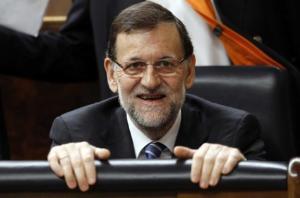 Rajoy no es de sonrisa espontánea, sí de timidez