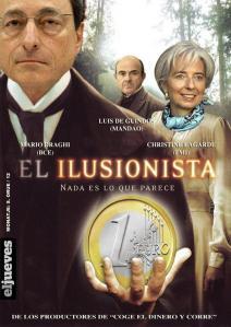 Draghi, Lagarde y De Guindos