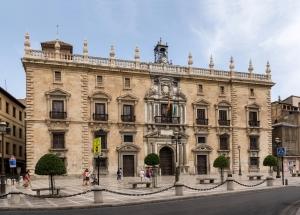 La sede central del Tribunal Superior de Justicia de Andalucía