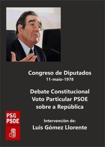 Para los que dijeron que el PSOE siempre fue monárquico