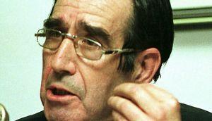 Luis Gómez Llorente poco antes de fallecer