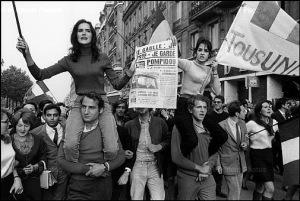 El Mayo francés de 1968