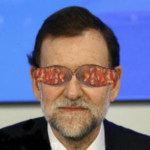 El Rajoy que dijo que nunca vio ninguna irregularidad en el PP, centro de la trama para su financiación corrupta-mafiosa.